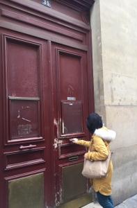パリの学校入口