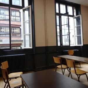 パリ塾の教室