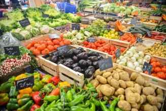 legumes au marche